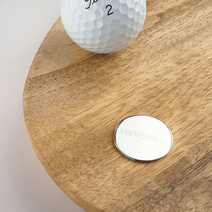 Roman Numerals Personalised Golf Ball Marker - view all new