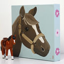 Personalised Pony Canvas, Hand Painted