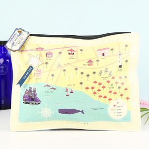 Disaster Designs Memento Beach Pouch - travel bags & luggage
