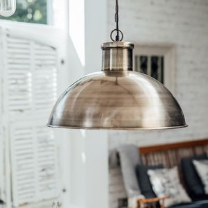 Large Industrial Dome Pendant - ceiling lights