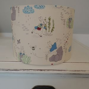 Handmade Lampshade In Peter Rabbit Fabric - lampshades