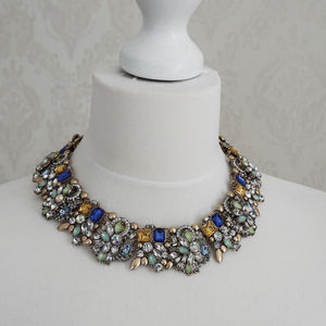 Colourful Full Statement Bib Necklace - necklaces & pendants