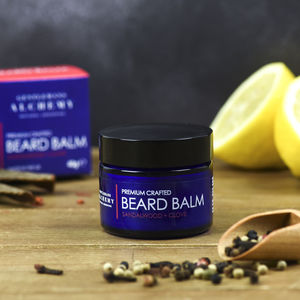 Sandalwood And Clove Spicy Beard Balm, 40g