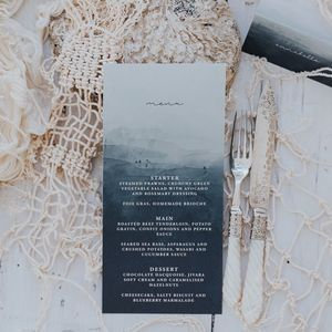 Annabelle Menu Card - menu cards