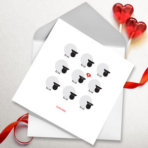 Love Ewe Greetings Card