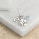 With Four Leaf Clover and BlueTopaz
