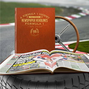 Personalised Formula One History Book - interests & hobbies