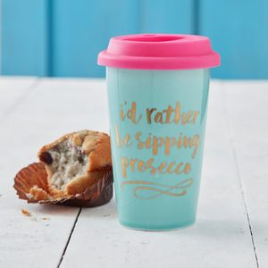Prosecco Travel Mug - mugs