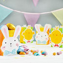 Bunny Rabbit And Chick Treat Bags