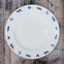'Farm Animals' China Dinner Plate