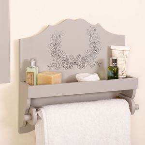 Anne Marie French Grey Wooden Bathroom Kitchen Range - chalkboards