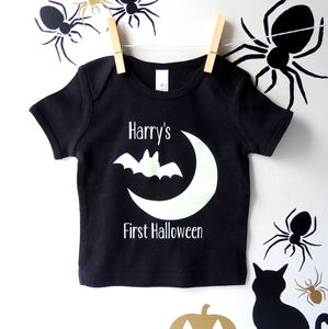 Glow In The Dark First Halloween Baby Top
