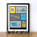 French Cycling Terms Art Print