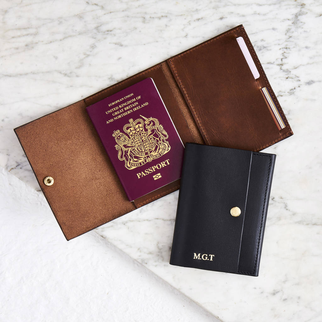 Leather Passport Case - West Coast by VIDA VIDA UuW4nqh