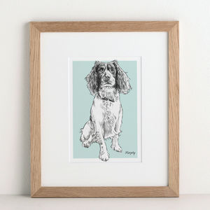 Bespoke Pet Portrait - gifts for families