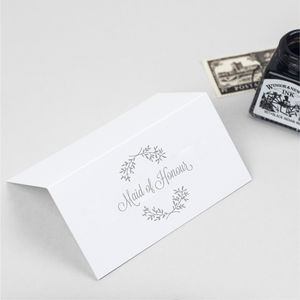 Perfect Day Wedding Place Cards