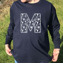 Personalised Long Sleeved Top