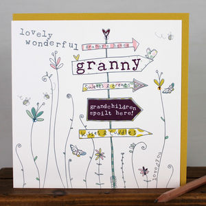 Card For A Granny/Nanny - mother's day cards