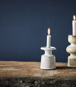 A Simple Stylish Eartherware Candleholder