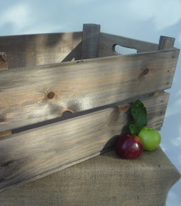 Vintage Style Apple Crate