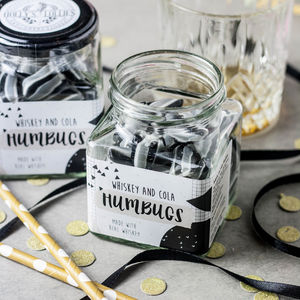 Alcoholic Whiskey And Cola Humbugs Jar - valentine's gifts for him