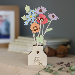 Personalised Family Flower Pot