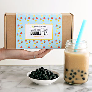 Bubble Tea Making Kit - make your own kits