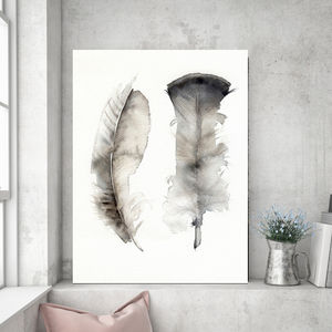 Floating Feathers, Canvas Art - paintings