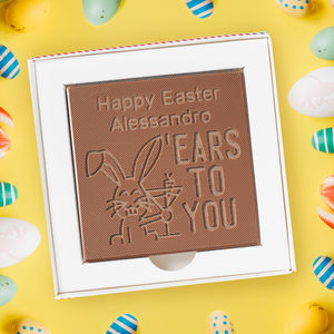 Personalised 'Ears To You' Chocolate Card - view all new