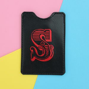 Personalised Initial Business Card Holder - wallets