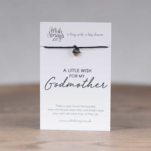 Little Wish 'Godmother' Heart Wish Bracelet - bracelets & bangles