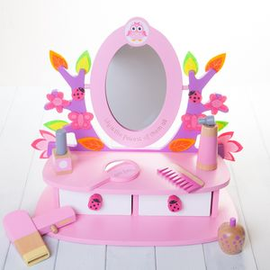 Personalised Childrens Vanity Mirror Set - home sale