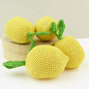 Lemon Crochet Toy - new modern toys