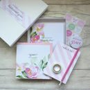Bridesmaid Wedding Planning Stationery Gift Set