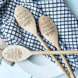 Personalised Magic Christmas Spoon