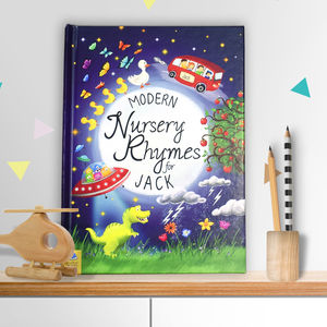Personalised Book Of Modern Nursery Rhymes - gifts for babies