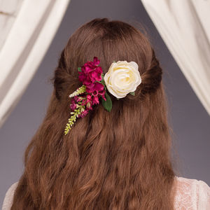 Pippa Rose Hair Clip - whats new