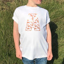 Fox Personalised Initial Tshirt