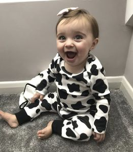 Cow Print Baby And Toddler Leggings
