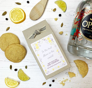 Bake Your Own Gin Cookies