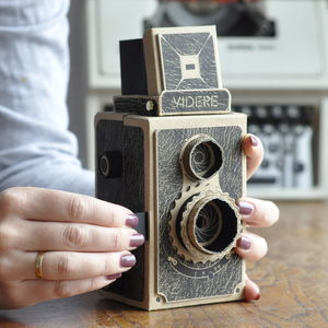 Build Your Own 35mm Pinhole Camera - gifts for brothers