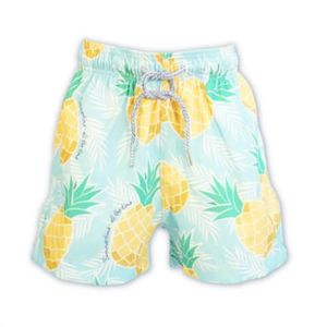 Kid's Pineapple Swim Shorts