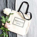 'Bridesmaid' Wedding Tote Bag