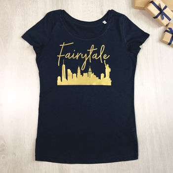 Fairytale Over New York Christmas T Shirt