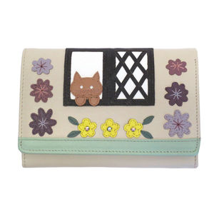 Cat In The Country Cottage Leather Purse 20% Off