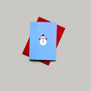 Christmas Card : Frosty The Snowman