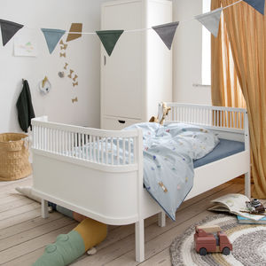 Classic White Baby And Junior Bed - beds