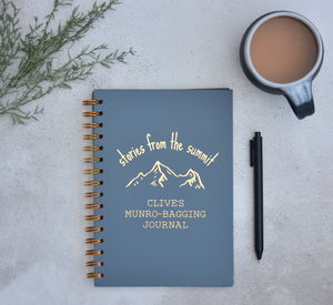 Personalised Hiking Journal