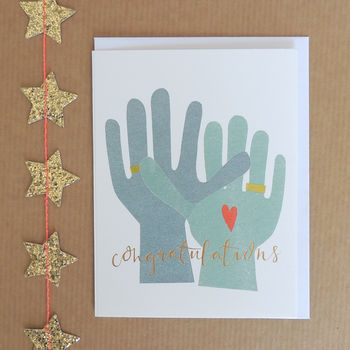 Congratulations Mini Greetings Card