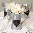10th Anniversary Heart Pitcher Jug